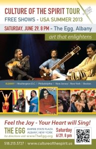 Culture of The Spirit Festival - June 29 - The Egg - Albany
