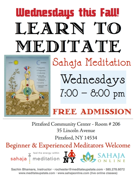 Rochester Meditation Classes
