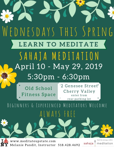 2019 Wednesdays This Spring